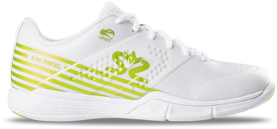 Halová obuv Salming Viper 5 Shoe Women White/Fluo Green
