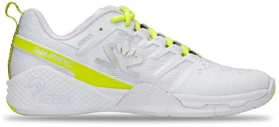 Halová obuv Salming Kobra 3 Shoe Women White/Fluo Green