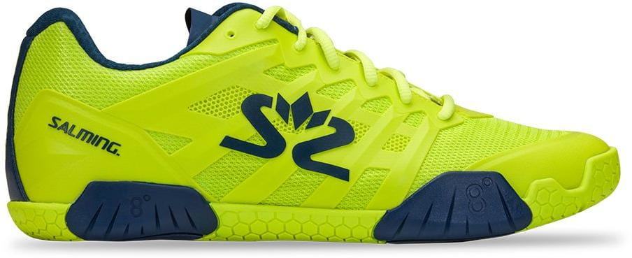 Halová obuv Salming Hawk 2 Shoe Men Fluo Green/Navy