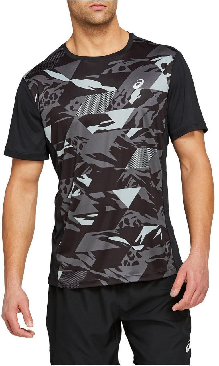 Pánské běžecké tričko Asics Future Camo SS Top