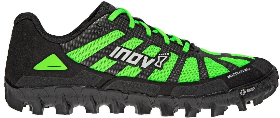 Běžecká obuv Inov-8  MUDCLAW G 260 v2 M (P) black/green zelená