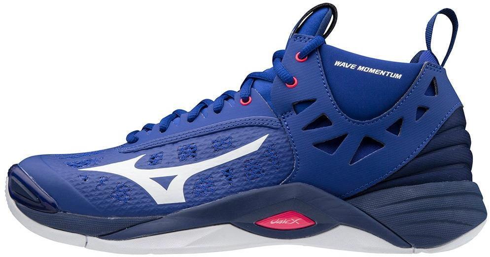 Unisexová volejbalová obuv Mizuno Wave Momentum Mid