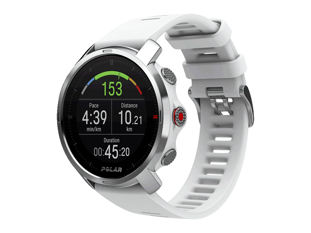 Outdoorové multisport hodinky Polar Grit X bílý, vel. S/M