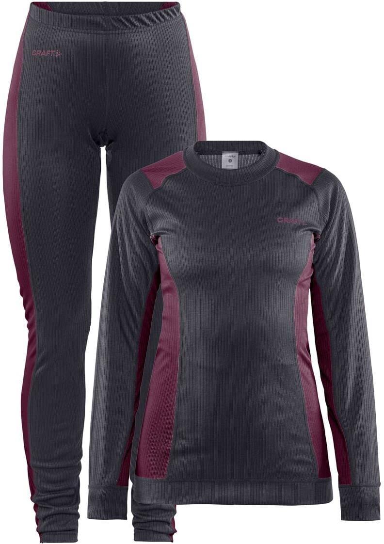 Spodní prádlo Craft W Set CORE Dry Baselayer tmavě šedá
