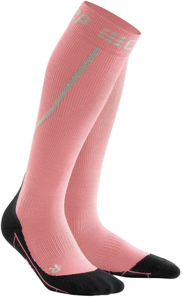 Ponožky CEP Zimní běžecké podkolenky