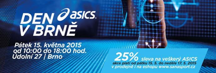 Den s ASICS - pátek 15.5. v brněnské prodejně