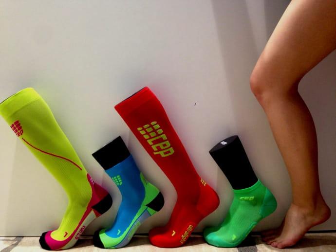 Kompresní podkolenky pro zdravé nohy