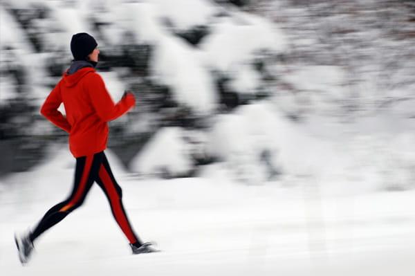 Zima a rekreační běh