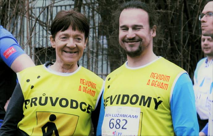 """""""Pro ten úsměv bych dala i maraton,"""" říká průvodkyně nevidomých"""