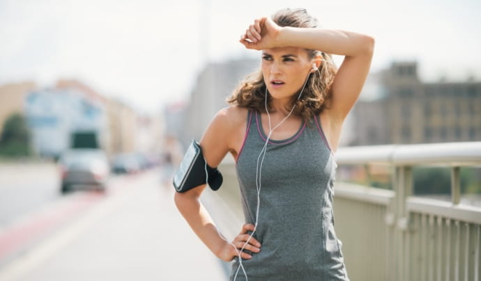 Ako správne dýchať pri behu