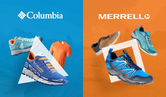 Vítame nových členov: Columbia a Merrell