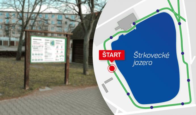 Otevíráme běžecký okruh kolem Štrekoveckého jezera