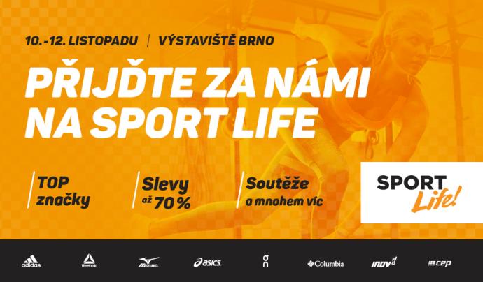 Na SportLife 2017 bude živo. A my!