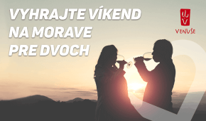 Nakúpte darčeky a vyhrajte pobyt na Morave