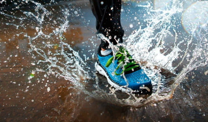 Beh v daždi - príjemné spestrenie alebo risk?