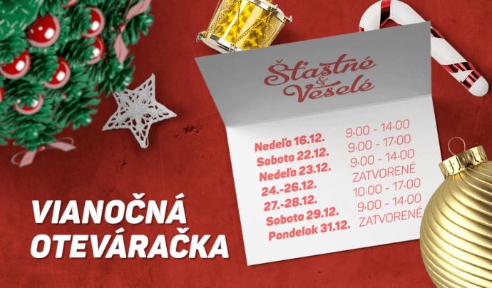 Vianočná oteváračka 2018