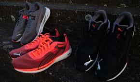 Testování nové kolekce silničních běžeckých bot Puma Nitro
