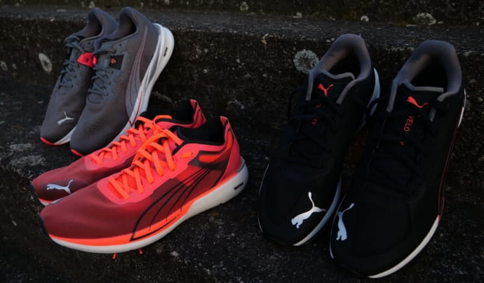 Testovanie novej kolekcie cestné bežecké obuvi Puma NItro
