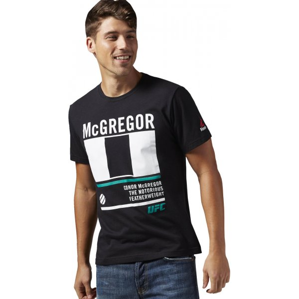 Reebok McGregor Nickname Tee - pánské tričko  f6da0d5bf5