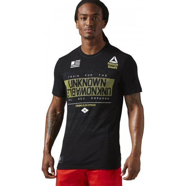 Reebok CrossFit Burnout Tee - pánské tričko  f882805d1c