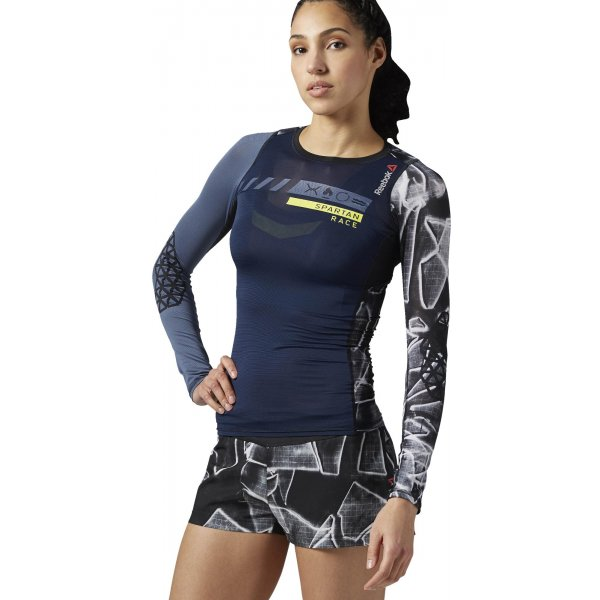 594dd16e392 Reebok Spartan Pro Long Sleeve Compression - dámské tričko ...