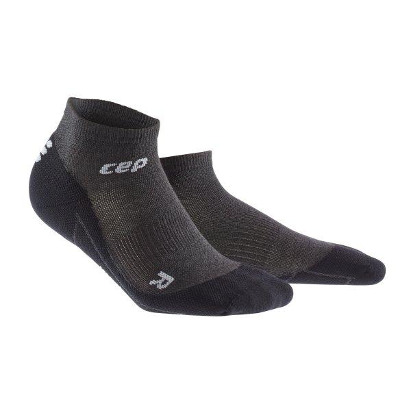 CEP Běžecké kotníkové ponožky merino dámské antracitová   černá - dámské  ponožky  54d3be77da