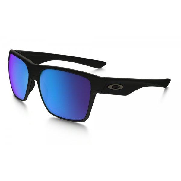 b0e70b3de Oakley Two Face XL Matte Black w/ Sapph Irid Polar - slnečné okuliare |  Sanasport.sk