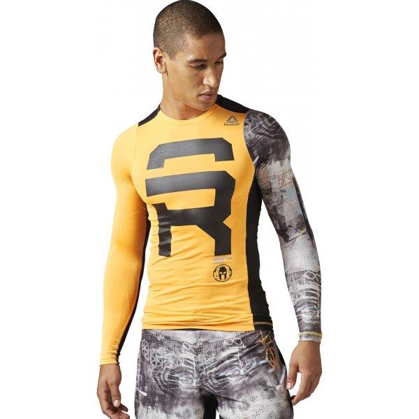 Reebok Spartan Race LS Compression - pánské tričko  e3ced859b9