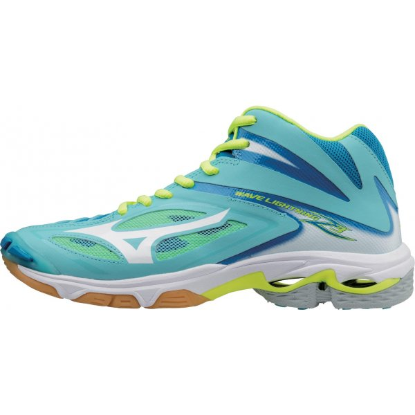 Mizuno Wave Lightning Z3 Mid - dámske halové topánky  7dfeefdd3f