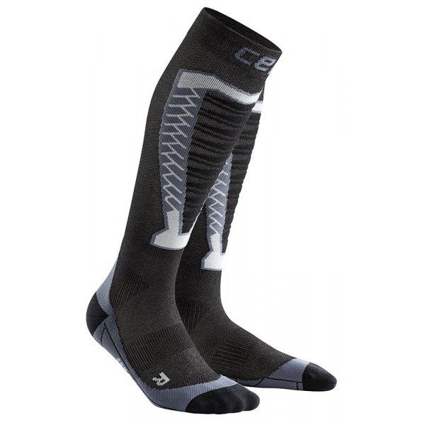 CEP Podkolenky pro překážkové běhy pánské antracitová - pánské ponožky  5cb008eca1