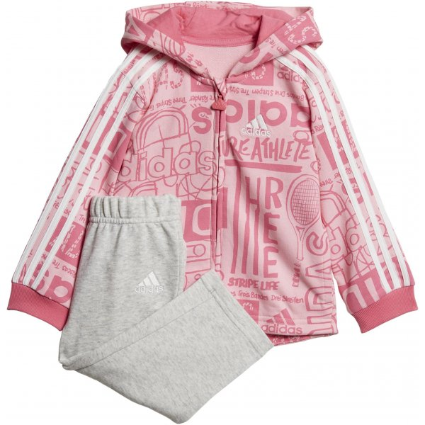 17c073b8 adidas Infant Graphic Full Zip Hooded Jogger Fleece | Sanasport.sk