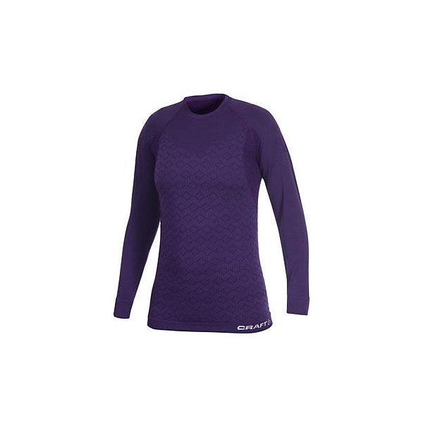 76abfb0599 Craft W Triko Warm CK Wool fialová - dámské tričko