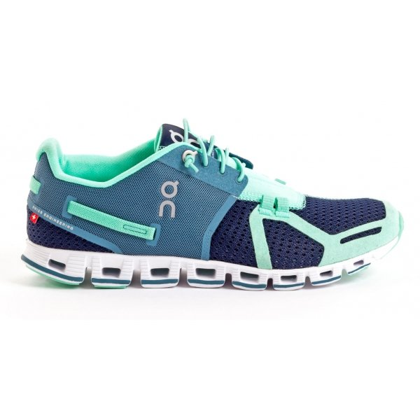 On Running Cloud Ocean Mint - dámske bežecké topánky  68de6a391dc